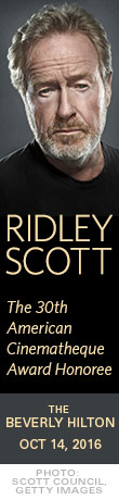 Ridley Scott 2016 American Cinematheque Award