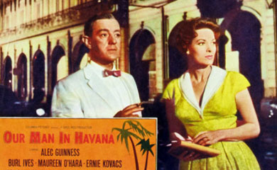 "an analysis of the novel our man in havana by graham greene Our man in havana by graham greene: an in-depth character analysis of  the time that the events in the novel take  have our man in havana you know"" (greene."